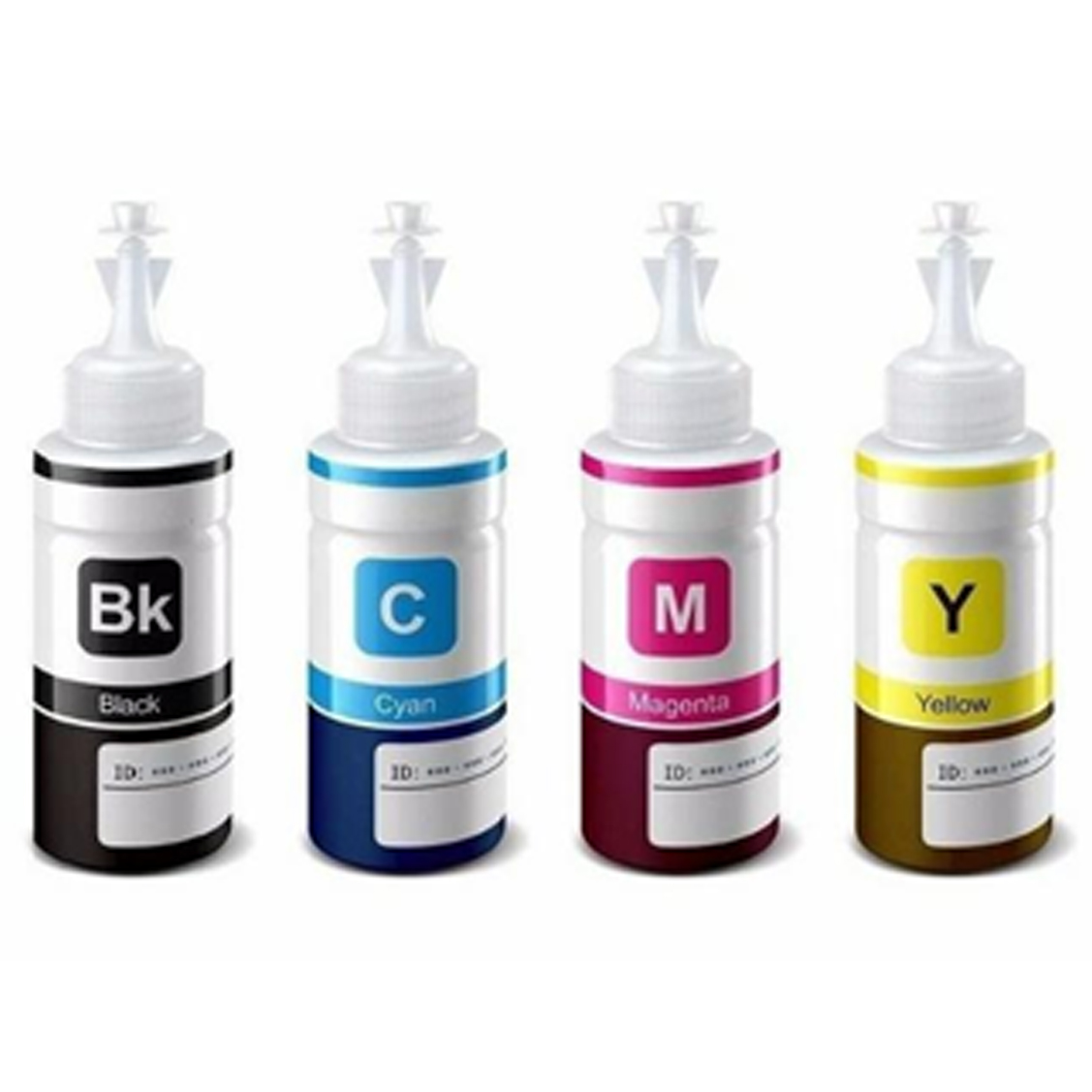 Refil Bulk Ink 4 Cores 100ml EPSON